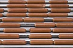 варящ собак горячих Стоковое Фото