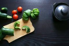 Варящ традиционное блюдо осени - vegetable тушёное мясо Стоковая Фотография