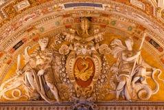 Ватикан внутрь Стоковое Изображение RF
