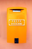 Ватикан, Италия - postbox Стоковая Фотография