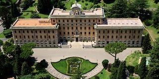 Ватикан строя фото штока Стоковое Изображение
