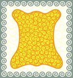 ватка золотистая Стоковое Изображение