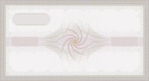 ваучер guilloche Стоковое Изображение RF