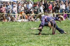 Вау плена коренного американца Стоковое Изображение RF