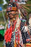 Вау плена коренного американца Стоковое фото RF