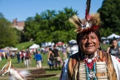 Вау плена коренного американца Стоковая Фотография