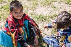 Вау плена коренного американца Стоковые Фотографии RF