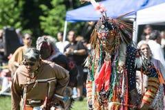 Вау плена коренного американца Стоковое Изображение