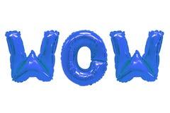 Вау темно-синий цвет стоковое фото