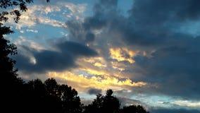 Вау что изумительные цвета в небе стоковая фотография rf