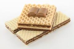 Вафли шоколада Стоковые Фото