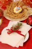 вафля Рожденственской ночи стоковое фото rf