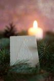 Вафля рождества Стоковые Фото