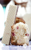 вафля торта стоковое фото rf