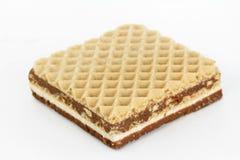 Вафля шоколада Стоковые Фото