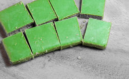 Вафли зеленого чая Matcha Стоковое Изображение RF