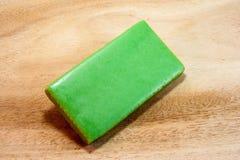 Вафля зеленого чая Стоковые Фото