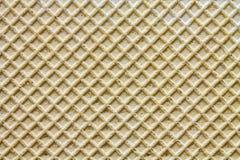 Вафля 1 макроса текстур предпосылок Стоковые Фото