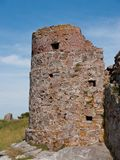 вахта башни руин Стоковые Изображения