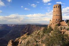 вахта взгляда башни пустыни Стоковое Фото