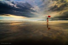 Вахта залива Стоковая Фотография