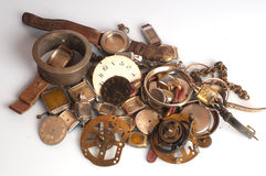 вахта старых частей ржавый Стоковое Фото