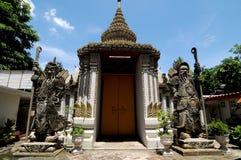 вахта двери гигантский каменный Стоковые Фото