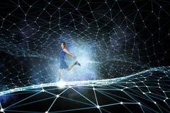 Ваша бесконечная энергия Мультимедиа Стоковое фото RF