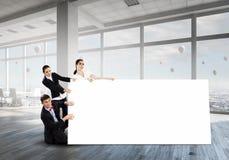Ваша реклама в хороших руках Мультимедиа Стоковое Изображение