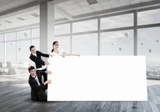 Ваша реклама в хороших руках Мультимедиа Стоковое Фото