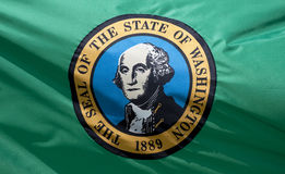 вашингтон государства флага Стоковое Фото