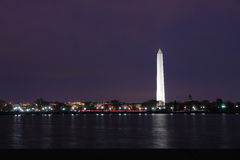 вашингтон ночи памятника Стоковая Фотография RF