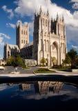 вашингтон отражения собора Стоковое фото RF