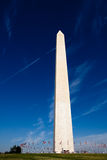 вашингтон памятника смещенный Стоковые Фотографии RF