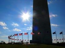 вашингтон памятника Стоковое Изображение RF