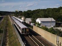 вашингтон поезда метро dc Стоковая Фотография RF