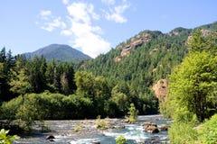 вашингтон реки парка elhwa национальный олимпийский Стоковое Изображение
