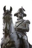 вашингтон статуи 4 george стоковые изображения