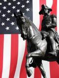 вашингтон статуи george стоковое фото rf