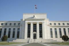 вашингтон США Федеральной Резервной системы dc банка Стоковые Изображения