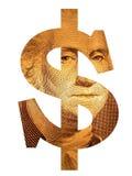 вашингтон доллара Стоковая Фотография