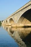 вашингтон dc мемориальный США моста arlington стоковое фото