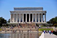 Вашингтон, DC: Мемориал Линкольна стоковое фото