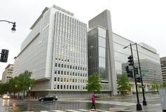 Вашингтон, DC - 4-ое июня 2018: Здание Всемирного Банка главное внутри стоковые изображения rf