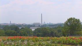 Вашингтон, DC от Вирджинии видеоматериал