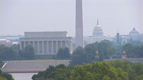 Вашингтон, DC от Вирджинии акции видеоматериалы