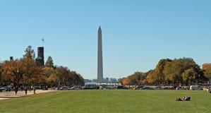 Вашингтон, DC памятник Вашингтона Стоковая Фотография