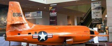 ВАШИНГТОН, DC, США - 10-ОЕ СЕНТЯБРЯ 2015: Колокол X-1 был первым укомплектованным личным составом самолетом для превышения скорос стоковые фото