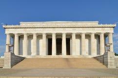 вашингтон dc lincoln мемориальный США стоковые изображения