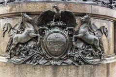 вашингтон philadelphia памятника george Стоковые Изображения